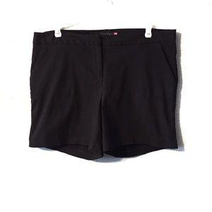 torrid Shorts - Torrid Black Shorts With Pockets Size 16